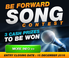 BE FORWARD Song Contest