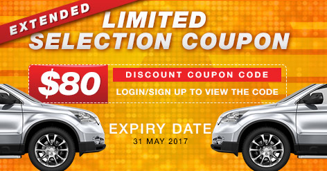 Limited Selection Coupon