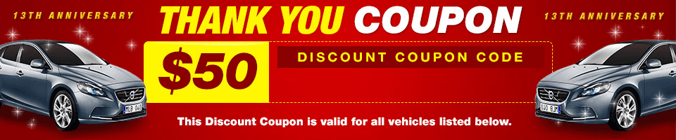 Thank You Coupon