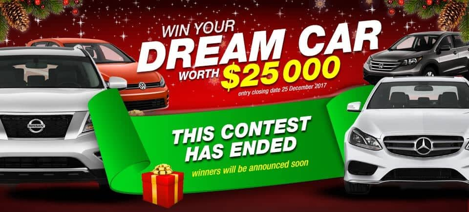 Autocars christmas giveaway contest entry
