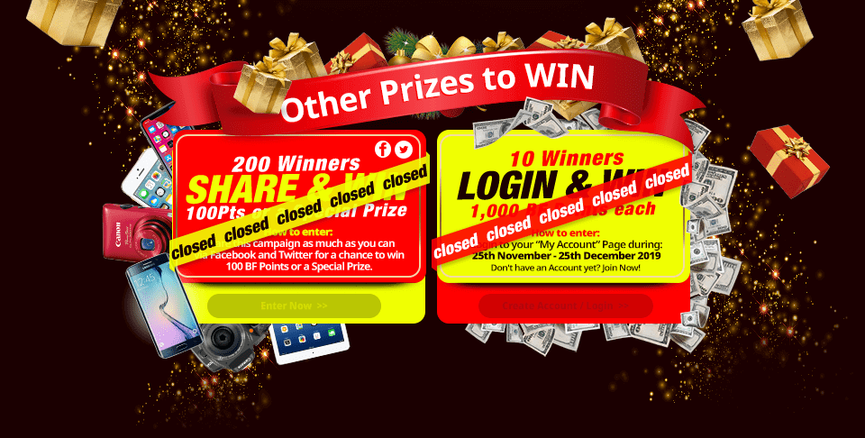 SHARE & WIN ⁄ LOGIN & WIN