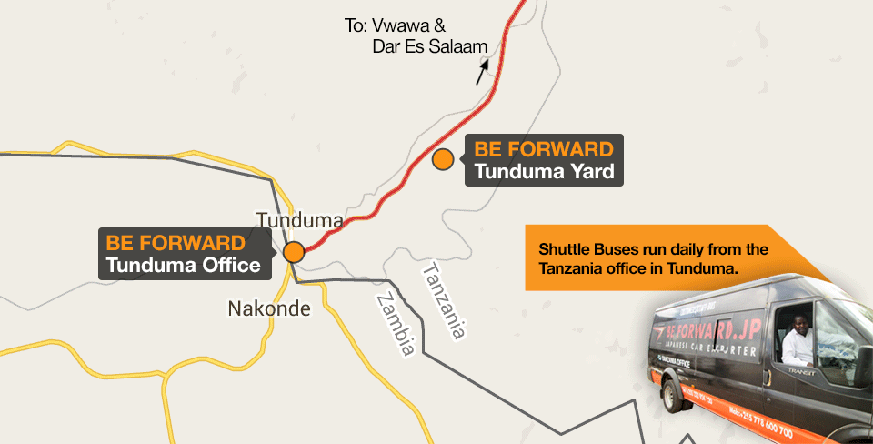 Shuttle Buses run daily from the Tanzania office in Tunduma.
