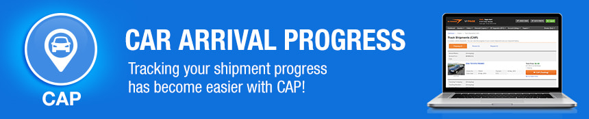 Car Arrival Progress (CAP) is an online system for customers to track the status of cars purchased until their arrival. From shipping arrangement to the issuing of B/L, every process can be confirmed online.