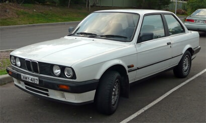 BMW 3 Series Second Generation (1982-1993)