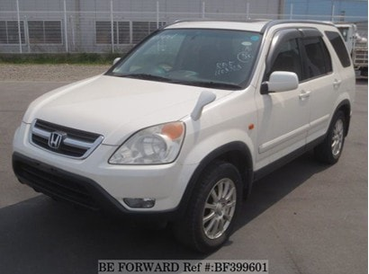 Honda CR-V Second Generation (2001 – 2006)