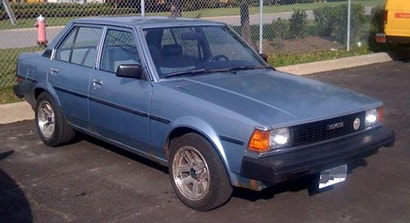 TOYOTA COROLLA Fourth Generation (1979 - 1983)
