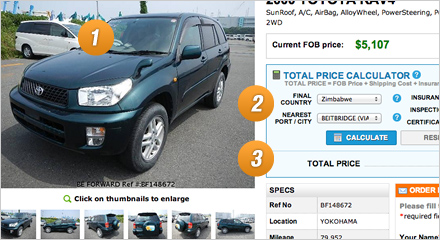 Be Forward City Deliver Via Durban Japanese Used Cars Be Forward