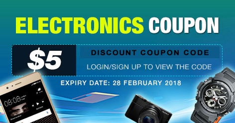 Electronics Coupon