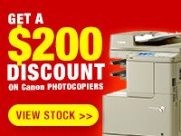 Photocopier $200 Discount