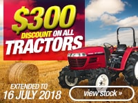 Tractor $300 Discount Campaign