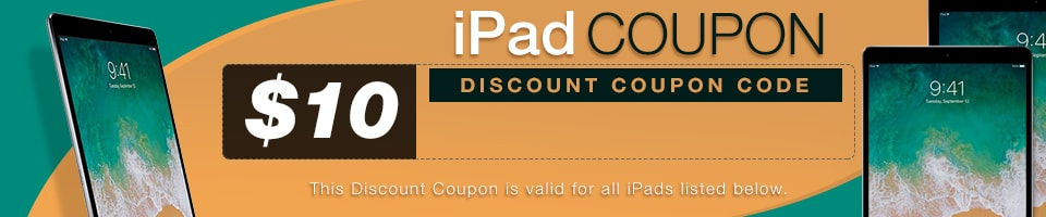iPad Coupon