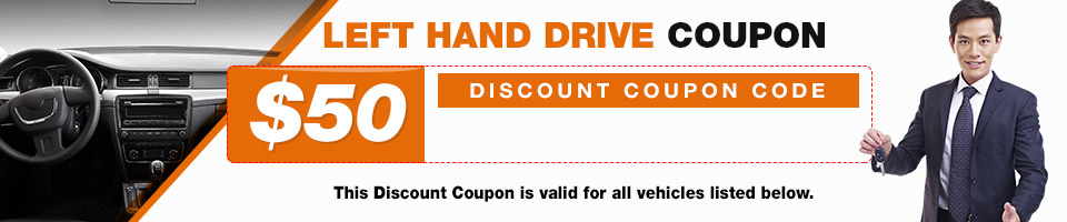 Left Hand Drive Coupon