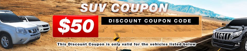 SUV Coupon