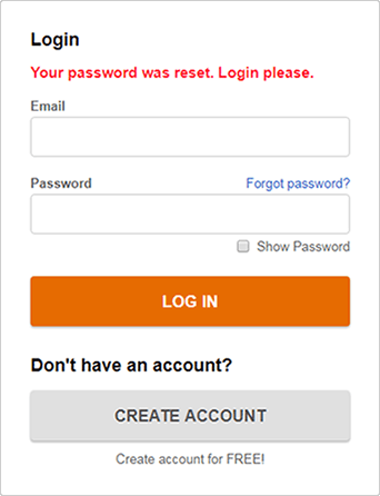 BE FORWARD Support: How to Update Password | BE FORWARD