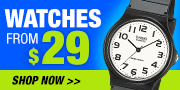 Watches from $29
