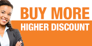 BUY MORE HIGHER DISCOUNT