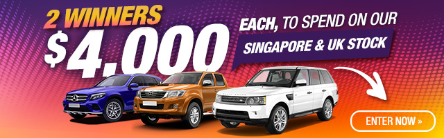 Win A $4000 Singapore/UK Car Round3